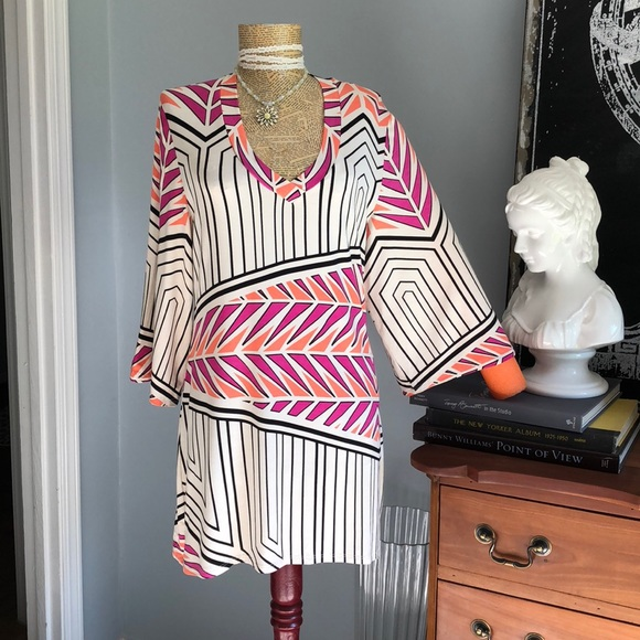 Envi Other - NWT Envy colorful beach tunic jersey knit dress